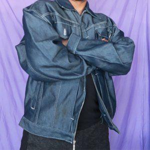 FUBU Jeans vintage denim jacket size XXL